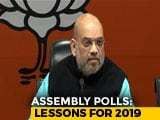 Video : In Marathon Meet Today, Amit Shah To Discuss BJP's Election Rout