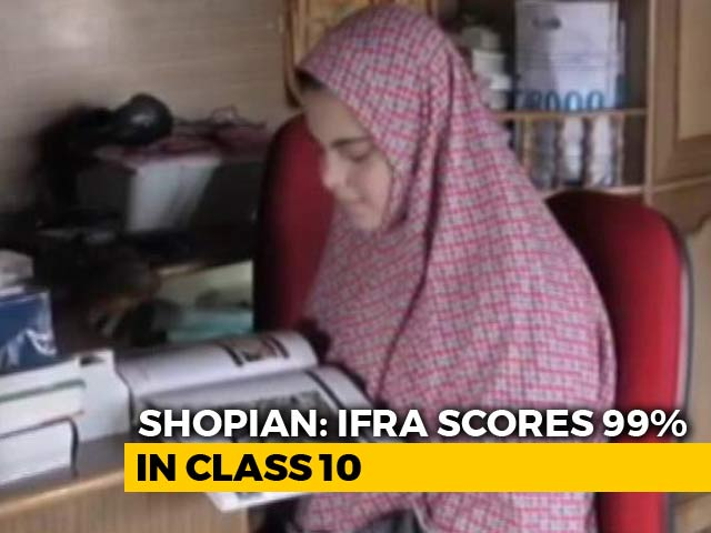 Video : Amid Violence And Turmoil, Kashmir Students Shine In Board Exams