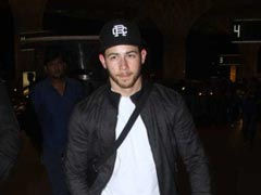 Priyanka Chopra Sees Husband Nick Jonas Off At Mumbai Airport. Pics Here