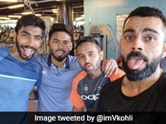 "Virat Kohli Undergoes ""Circuit Training"" With Teammates"