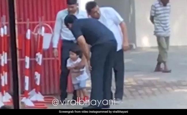 तैमूर अली खान बिल्ली को देखते ही हो गए खुश, करने लगे खेलने की जिद... देखें video