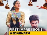 Video : First Impressions Of Sara Ali Khan's <i>Kedarnath</i>