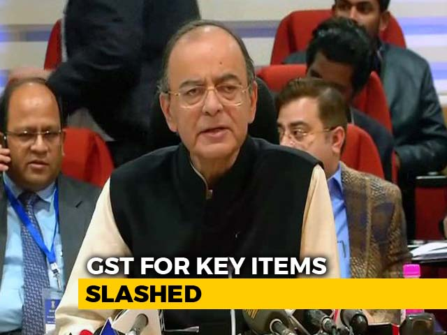 Video : 32-Inch TVs, Movie Tickets Get Cheaper; 7 Items Moved From 28% GST Rate