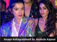 Sonam, Janhvi, Shanaya Are Show Stealers At Anil Kapoor's Birthday Bash