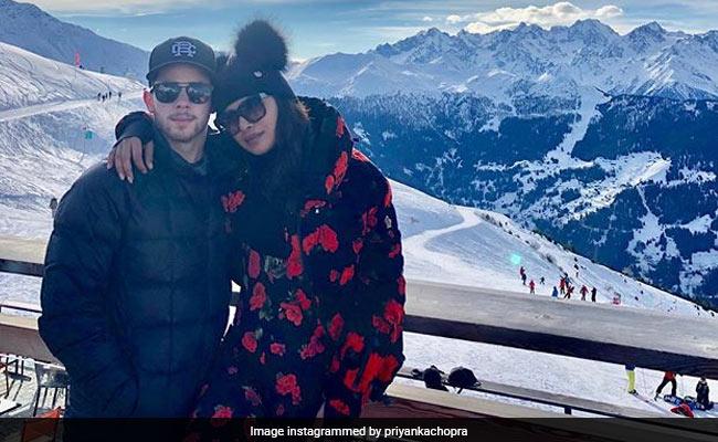 New Pics From Priyanka Chopra, Nick Jonas' Switzerland Vacation Make It Snow On Instagram