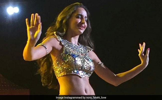 नोरा फतेही ने इस सॉन्ग पर किया धमाकेदार 'बैली डांस',  Video ने मचाई धूम