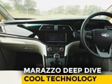 Video : Sponsored: Mahindra Marazzo | Cool Tech | NDTV Carandbike