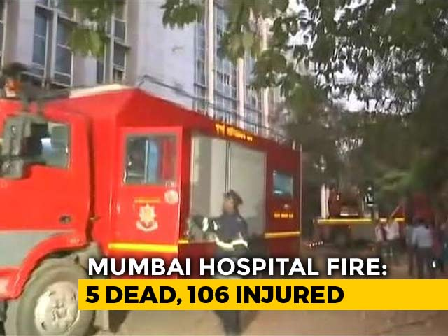 Video : 6 Dead, About 140 Rescued After Fire At Hospital In Mumbai's Andheri
