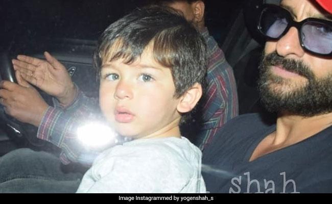 तैमूर अली खान बर्थडे पर छुट्टियां मनाकर लौटे, पापा सैफ की गोद में यूं दिखी Cuteness... देखें Video
