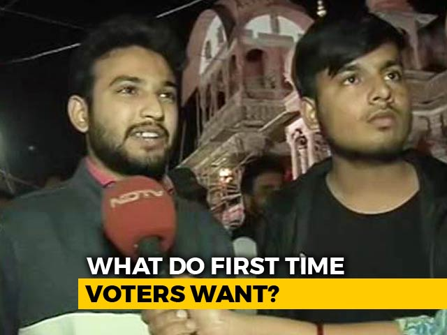 Video : Ahead Of Telangana, Rajasthan Polls, First-Time Voters Excited