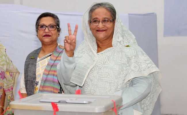 Bangladesh PM rejects rigging complaints after win