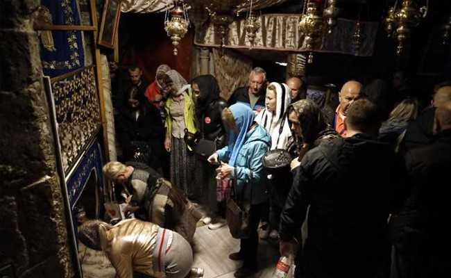 At Jesus's Birthplace, App Is Born To Ease Christmas Crowds