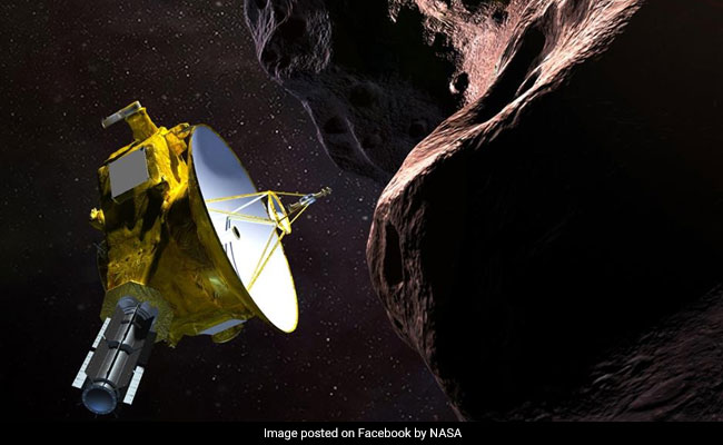 Nasa probe in landmark space exploration