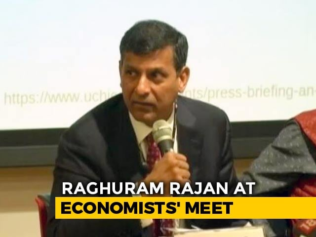 "Video : ""Not Loan Waivers"": Raghuram Rajan On What Will Solve Farm Distress"
