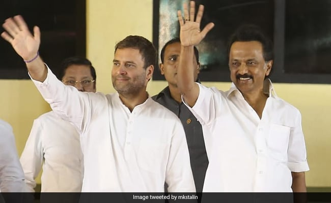 MK Stalin Pushes On With Rahul Gandhi-For-PM On Counting Day