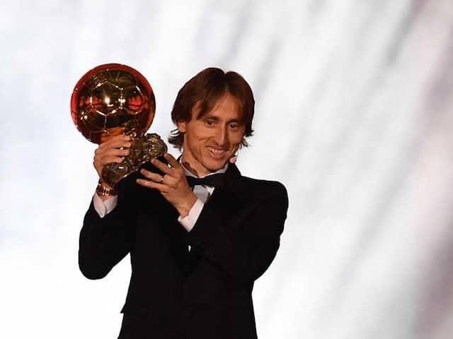 New name on world's most prestigious award of football Ballon d'Or is Luka Mordic
