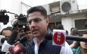 Amid Congress Celebrations In Rajasthan, Sachin Pilot Pings Parties