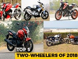 Video: Top 5 Two-Wheelers Of 2018