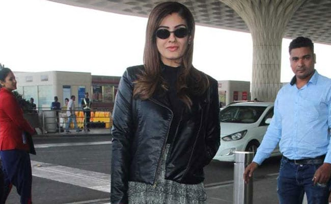 Raveena Tandon Is Serving Us Some Stylish Winter Fashion Goals. Get Her Look