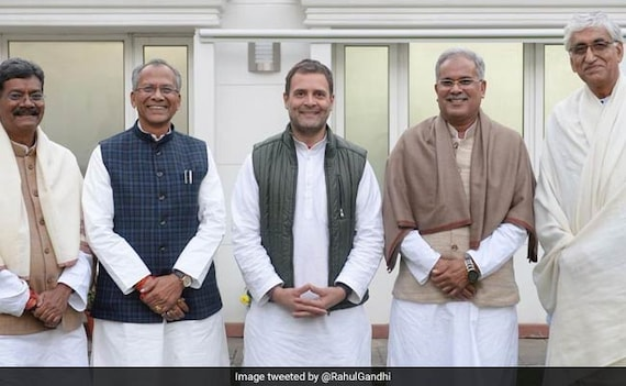 4 In Race For Chhattisgarh Top Job, Name To Be Announced Today