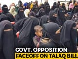 Video : Opposition Stalls Triple <i>Talaq</i> Bill, Rajya Sabha Adjourned
