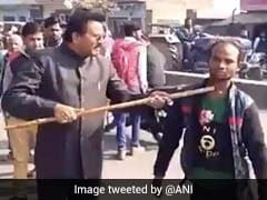 """BJP Leader Beats Differently Abled Man Who Said """"Will Vote For Akhilesh"""""""