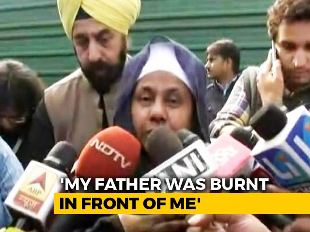 "Video : ""Saw My Father Being Burnt Alive"": Horror Of 1984 Anti-Sikh Riots"