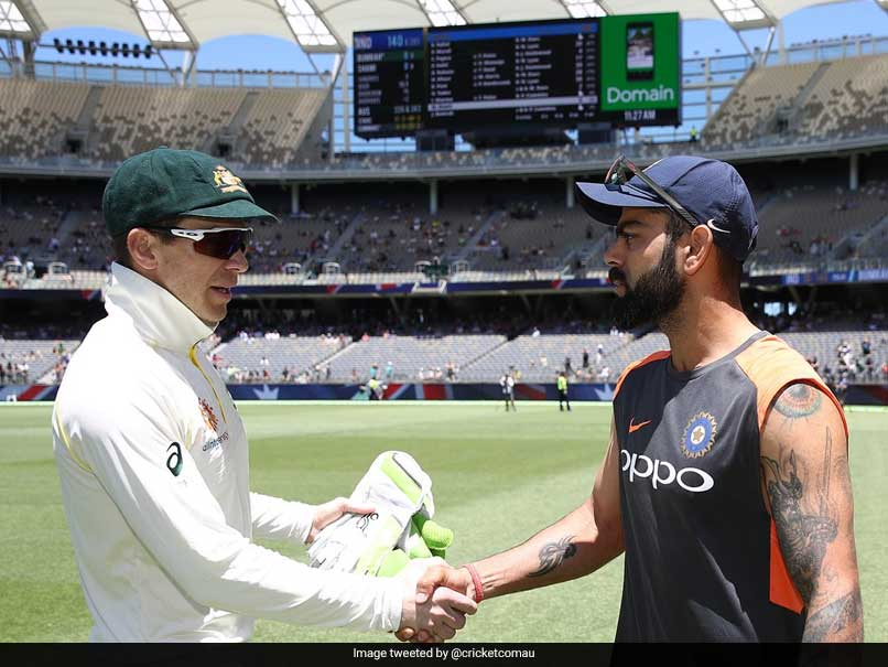 "Kohli, Paine Label Heated Exchanges In Perth As ""Competitive Banter"""