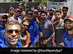 India vs Australia: Hardik Pandya Clicks 'Best Selfie Ever' With India Teammates