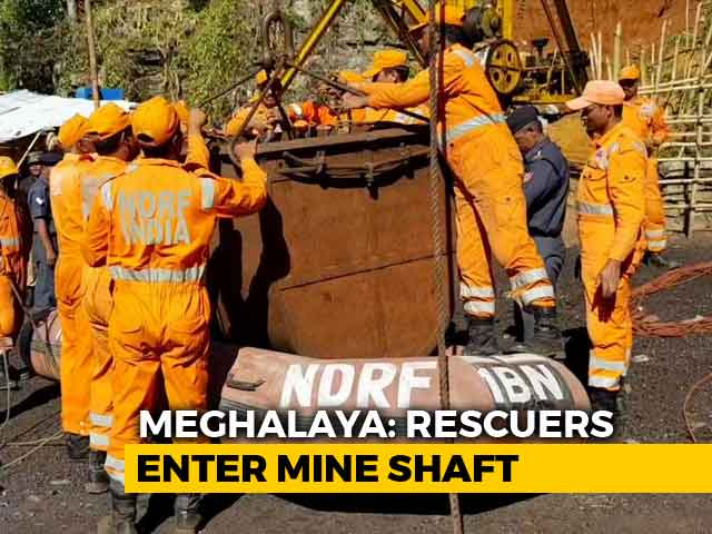 Video : On Day 19, Navy Divers To Attempt Deep Search In Meghalaya Rat-Hole Mine