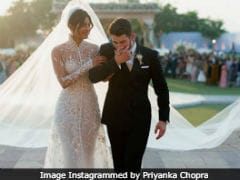 To Priyanka Chopra And Nick Jonas: 'So Happy For You Two,' Write The Rock And Others