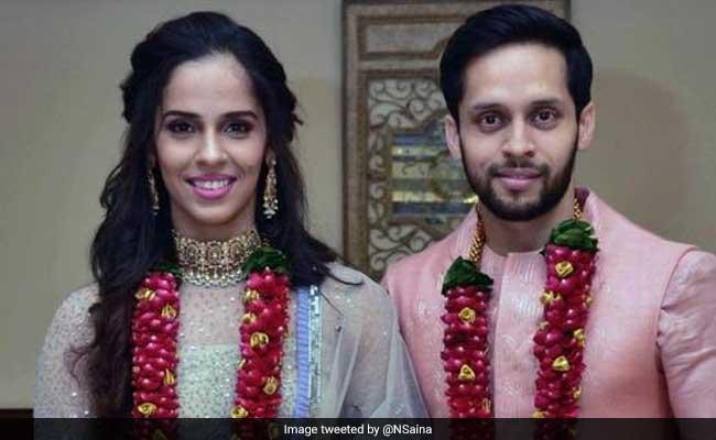 सायना नेहवाल ने पी कश्यप संग रचाई शादी, सोशल मीडिया पे दी जानकारी