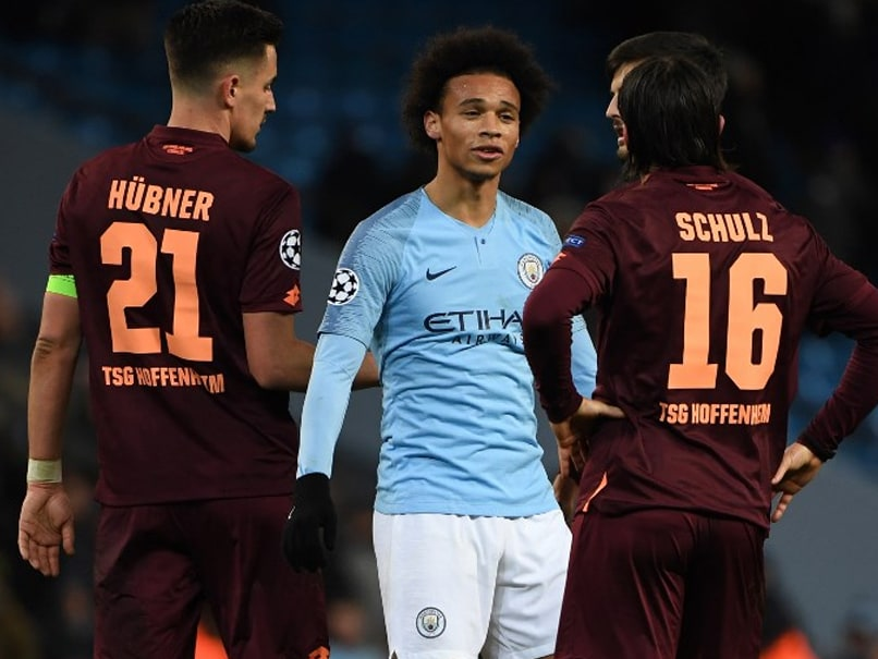 Leroy Sane Double Secures Champions League Top Spot For Manchester City