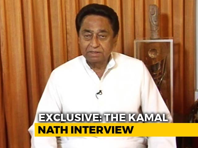 Video : Kamal Nath To NDTV On 3 Opposition Leaders Missing Oath Ceremony