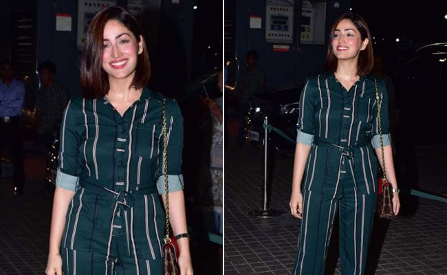 6 Striped Jumpsuits To Try Yami Gautam's Stylish Winter Look