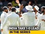 Video : India Beat Australia In Adelaide, First Test Win Down Under In 10 Years