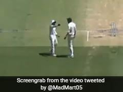 Watch: Ishant Sharma, Ravindra Jadeja Argue On The Field At Perth