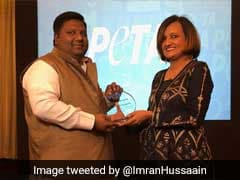 Delhi Minister Imran Hussain Awarded By PETA For Ban On Chinese <i>Manjha</i>
