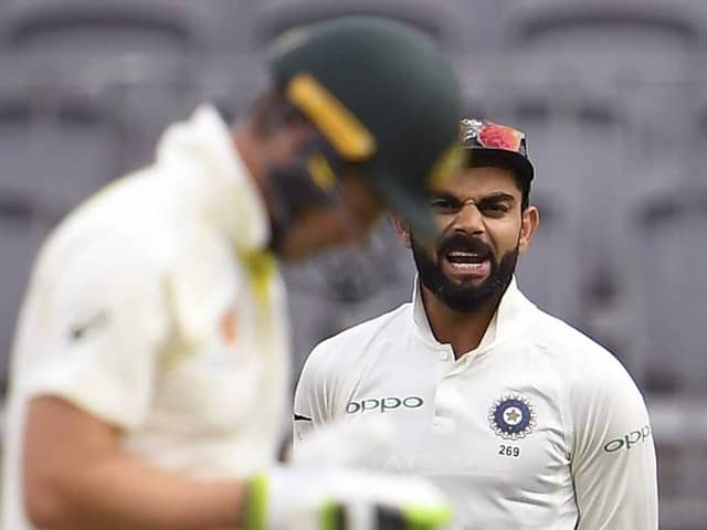 India Vs Australia 2nd Test Day 4: Tim Paine continue his word with Murli Vijay when Virat Kohli was not their