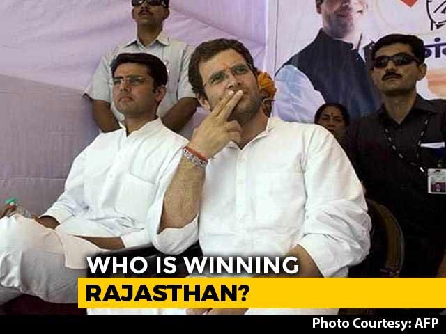 """Video : Poll Of Exit Polls: Congress Win In """"Revolving Door"""" Rajasthan"""