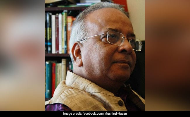 Prof Mushirul Hasan's Demise Has Created A Great Void: AMU Vice Chancellor
