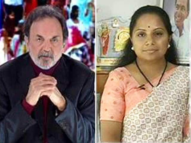 Video : KCR's Hardwork Paid Off In Telangana, Says His Daughter K Kavitha