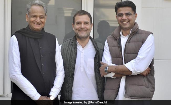 'United Colours Of Rajasthan': Rahul Gandhi Hints Top Post Tussle Over