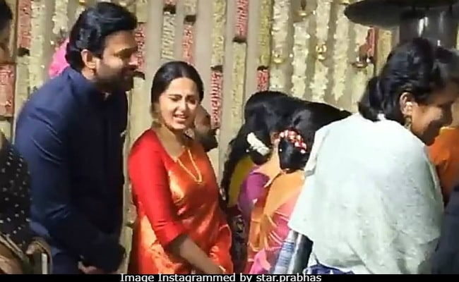 Anushka Shetty, Prabhas, Jr NTR and Nagarjuna arrive in Jaipur
