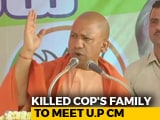 Video : Bulandshahr Violence: Yogi Adityanath To Meet UP Cop's Family Today