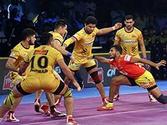 Pro Kabaddi League: Gujarat Fortunegiants Beat Telugu Titans 29-27 In A Nail-Biting Thriller