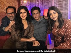 <i>Zero</i>: Shah Rukh Khan, Katrina Kaif, Anushka Sharma And Aanand L Rai In Some Happy Pics