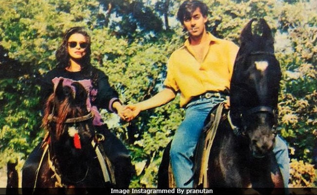 Salman Khan And... Can You Guess The Actress In This Throwback Pic?