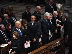 HW Bush Eulogies Highlight Stark Divides Between Presidents 41 And 45