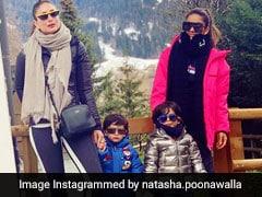 Kareena Kapoor's Pic With Taimur Is Actually 'Mama Life' = Thug Life